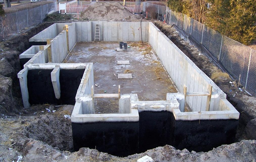 Harris brothers ltd foundations for Poured concrete foundation