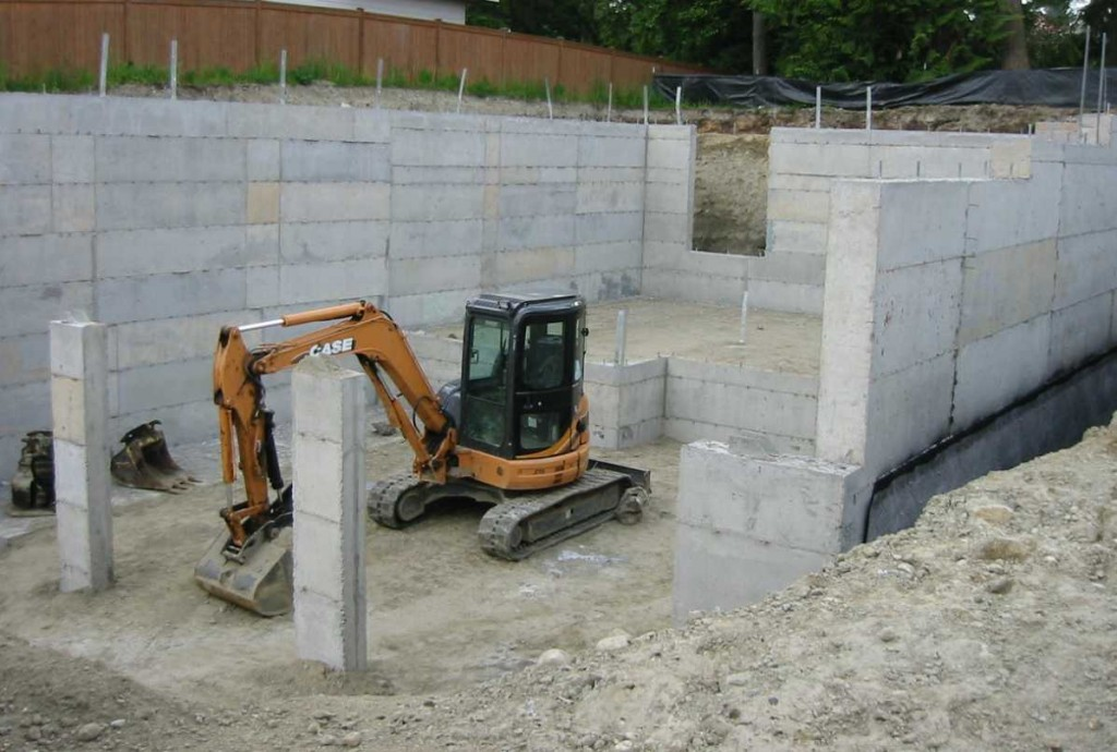 Harris brothers ltd foundations for Best temperature to pour concrete foundation